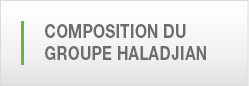 Composition du Groupe haladjian