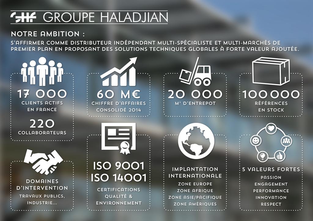 Les chiffres du Groupe Haladjian